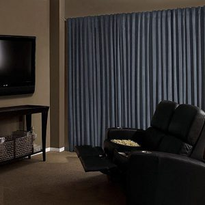 Soundproof Curtains in cinema rooms