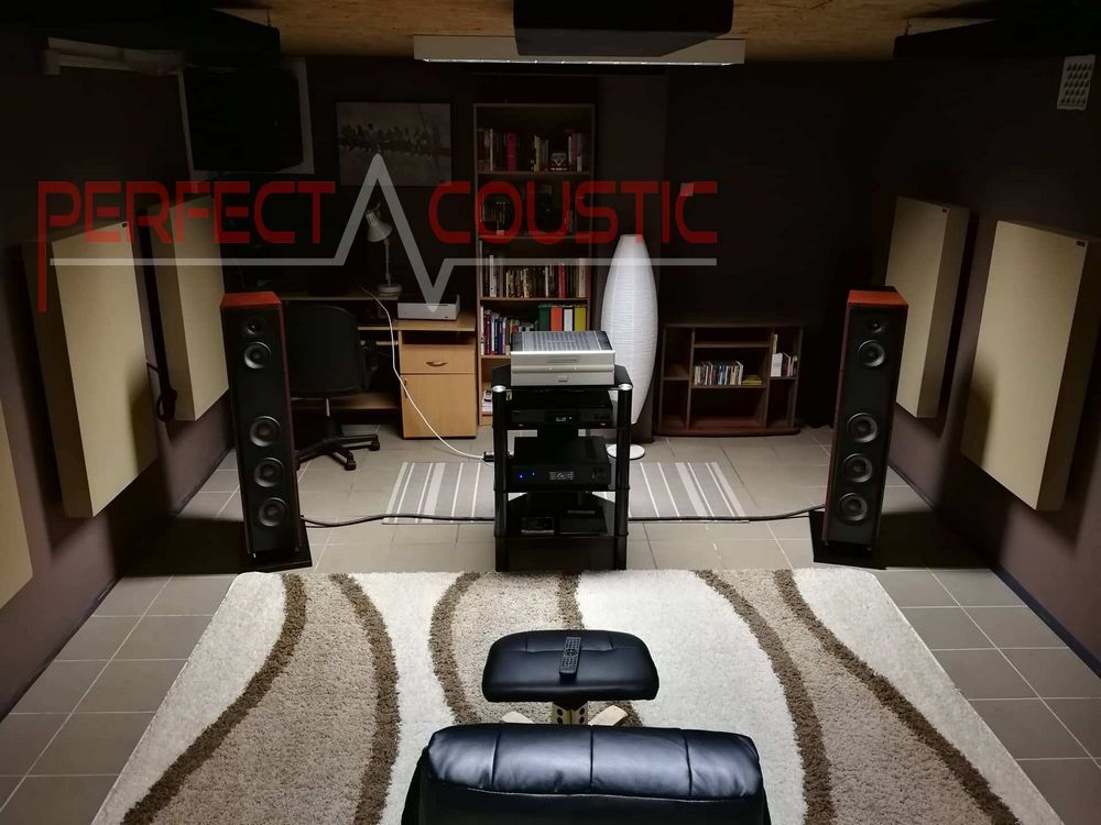 acoustic treatment of home theater (2)